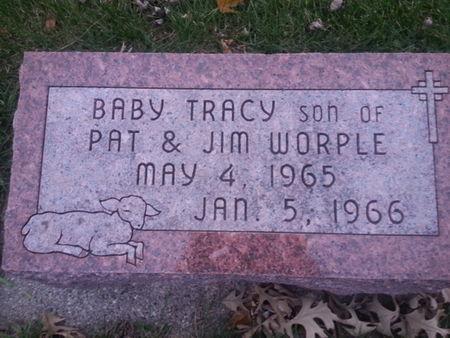 WORPLE, TRACY (BABY SON) - Mitchell County, Iowa   TRACY (BABY SON) WORPLE