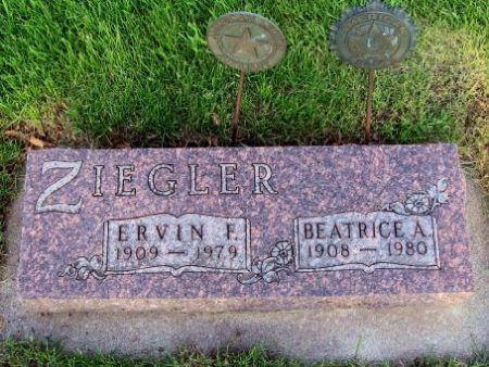ZIEGLER, BEATRICE A. - Mitchell County, Iowa | BEATRICE A. ZIEGLER