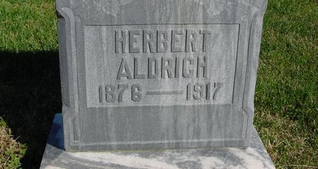ALDRICH, HERBERT - Monona County, Iowa | HERBERT ALDRICH