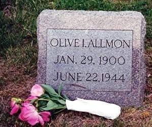 ALLMON, OLIVE I. - Monona County, Iowa | OLIVE I. ALLMON