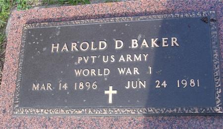 BAKER, HAROLD D. - Monona County, Iowa   HAROLD D. BAKER