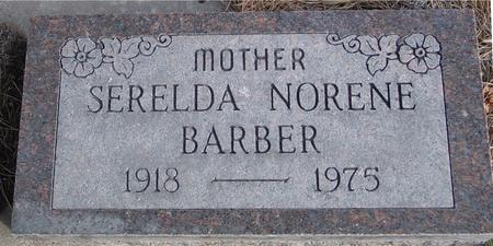 BARBER, SERELDA NORENE - Monona County, Iowa | SERELDA NORENE BARBER