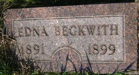 BECKWITH, EDNA - Monona County, Iowa   EDNA BECKWITH