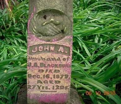 BLACKBURN, JOHN A. - Monona County, Iowa | JOHN A. BLACKBURN