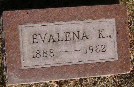 BLANKENHORN, EVALENA - Monona County, Iowa   EVALENA BLANKENHORN
