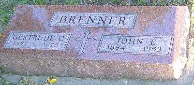 ULLRICH BRENNER, GERTRUDE C. - Monona County, Iowa | GERTRUDE C. ULLRICH BRENNER