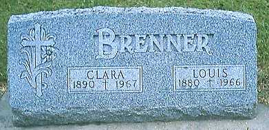 BRENNER, CLARA - Monona County, Iowa | CLARA BRENNER