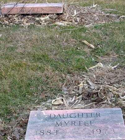BREWER, MYRTLE - Monona County, Iowa | MYRTLE BREWER