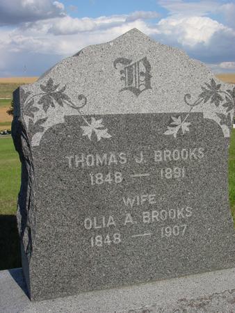 BROOKS, THOMAS J. - Monona County, Iowa | THOMAS J. BROOKS