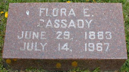 CASSADY, FLORA E. - Monona County, Iowa   FLORA E. CASSADY