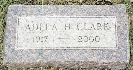 CLARK, ADELA HULDA - Monona County, Iowa   ADELA HULDA CLARK