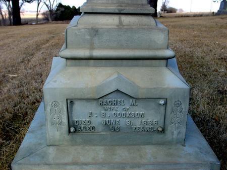 COOKSON, RACHEL M. - Monona County, Iowa   RACHEL M. COOKSON