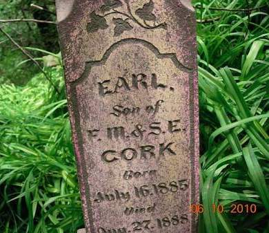 CORK, EARL - Monona County, Iowa | EARL CORK