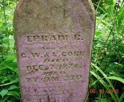 CORK, EPRAIM R. - Monona County, Iowa | EPRAIM R. CORK