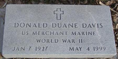 DAVIS, DONALD DUANE - Monona County, Iowa | DONALD DUANE DAVIS