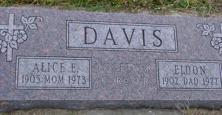 DAVIS, ELDON - Monona County, Iowa | ELDON DAVIS