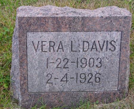 DAVIS, VERA L. - Monona County, Iowa | VERA L. DAVIS