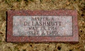 DE LASHMUTT, HARPER A. - Monona County, Iowa | HARPER A. DE LASHMUTT