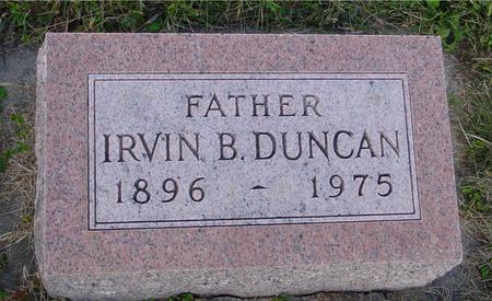 DUNCAN, IRVIN B. - Monona County, Iowa | IRVIN B. DUNCAN