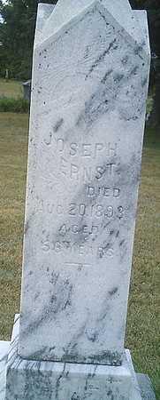 ERNST, JOSEPH - Monona County, Iowa | JOSEPH ERNST