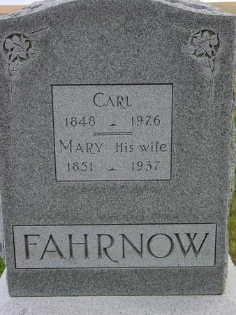 FAHRNOW, CARL - Monona County, Iowa | CARL FAHRNOW