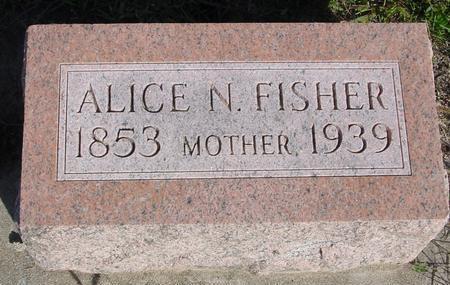 FISHER, ALICE N. - Monona County, Iowa | ALICE N. FISHER