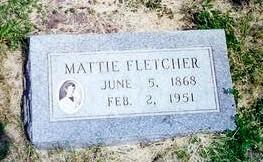 ERNST FLETCHER, MATTIE - Monona County, Iowa | MATTIE ERNST FLETCHER