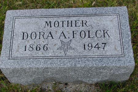 FOLCK, DORA A. - Monona County, Iowa   DORA A. FOLCK