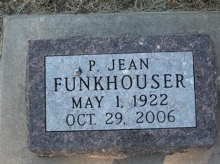 FUNKHOUSER, P JEAN - Monona County, Iowa   P JEAN FUNKHOUSER