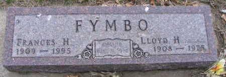FYMBO, FRANCES - Monona County, Iowa | FRANCES FYMBO
