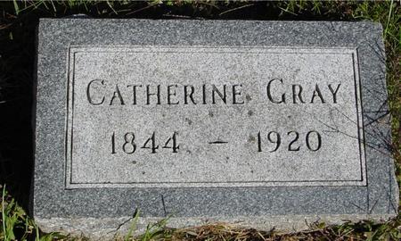 GRAY, CATHERINE - Monona County, Iowa   CATHERINE GRAY