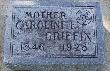 GRIFFIN, CAROLINE E. - Monona County, Iowa | CAROLINE E. GRIFFIN