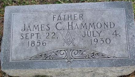 HAMMOND, JAMES C. - Monona County, Iowa | JAMES C. HAMMOND