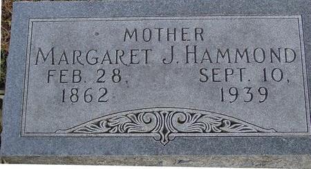 HAMMOND, MARGARET J. - Monona County, Iowa | MARGARET J. HAMMOND