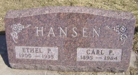 HANSEN, ETHEL P - Monona County, Iowa | ETHEL P HANSEN