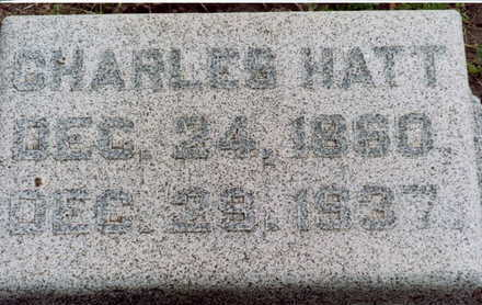 HATT, CHARLES - Monona County, Iowa | CHARLES HATT