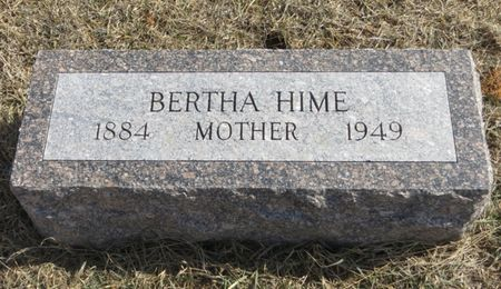 HIME, BERTHA - Monona County, Iowa | BERTHA HIME