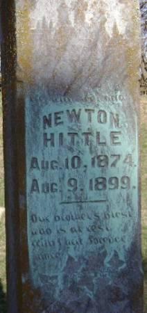 HITTLE, NEWTON - Monona County, Iowa | NEWTON HITTLE