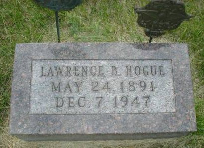 HOGUE, LAWRENCE B - Monona County, Iowa | LAWRENCE B HOGUE