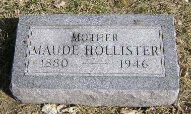 HOLLISTER, MAUDE - Monona County, Iowa | MAUDE HOLLISTER