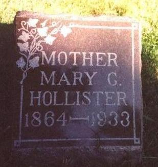 HOLLISTER, MARY G. - Monona County, Iowa | MARY G. HOLLISTER
