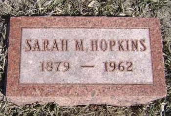 HOPKINS, SARAH M - Monona County, Iowa | SARAH M HOPKINS