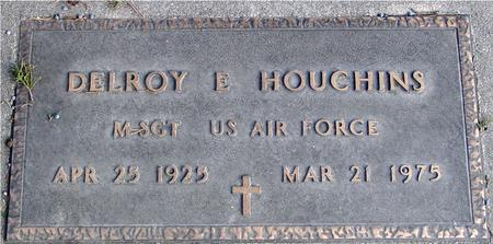 HOUGHINS, DELROY E. - Monona County, Iowa   DELROY E. HOUGHINS