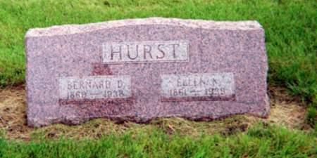 HURST, BERNARD D. - Monona County, Iowa   BERNARD D. HURST