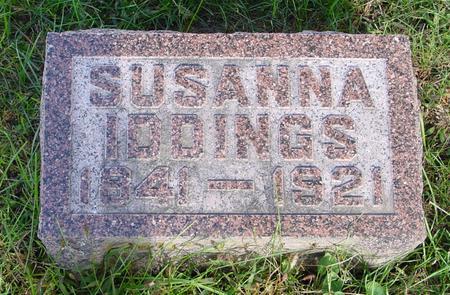 IDDINGS, SUSANNE - Monona County, Iowa   SUSANNE IDDINGS