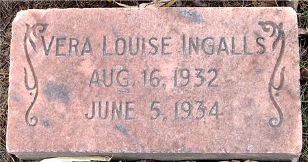 INGALLS, VERA LOUISE - Monona County, Iowa | VERA LOUISE INGALLS