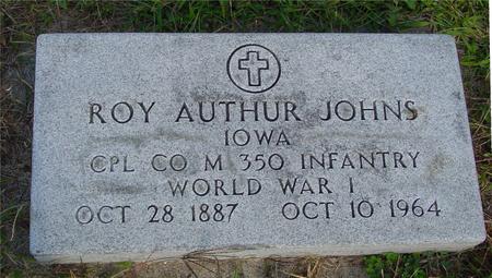 JOHNS, ROY AUTHUR - Monona County, Iowa | ROY AUTHUR JOHNS