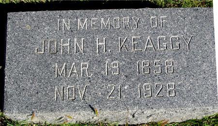 KEAGGY, JOHN H. - Monona County, Iowa | JOHN H. KEAGGY