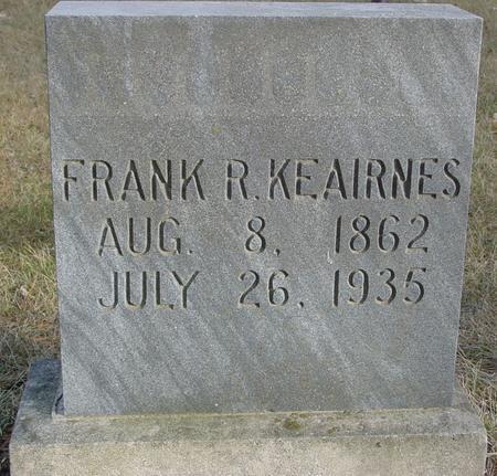 KEAIRNES, FRANK R. - Monona County, Iowa   FRANK R. KEAIRNES
