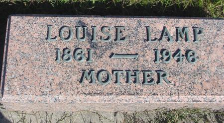 LAMP, LOUISE - Monona County, Iowa | LOUISE LAMP